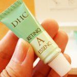 レチノール「DHC薬用レチノAエッセンス」アイクリーム 口コミ体験レビュー