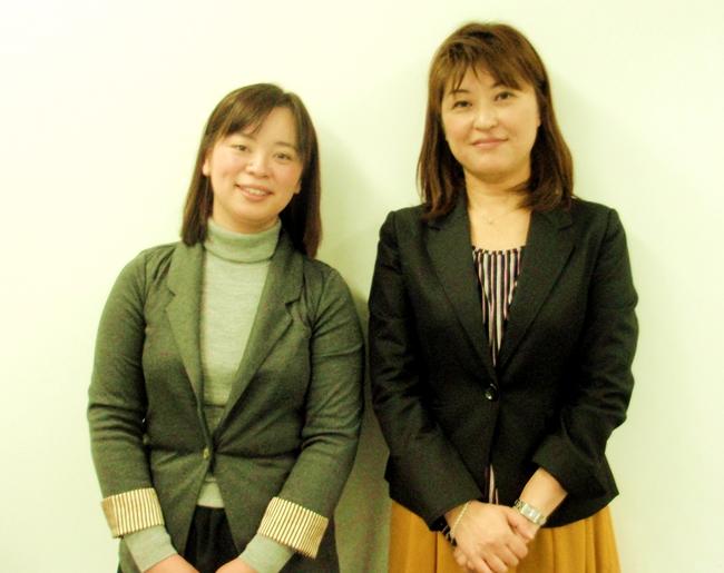 ラシンシア 片山美容所長(右)