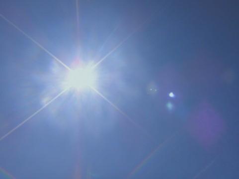 ニュートロックサンで日焼け防止