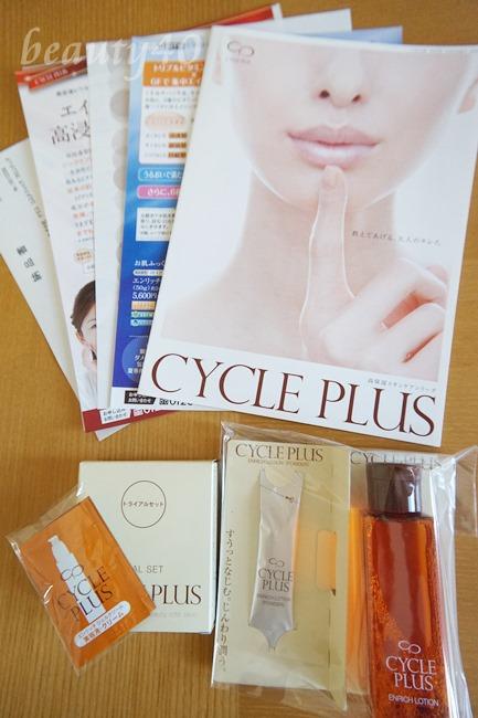 内容物すべて CYCLE PLUS(サイクルプラス)化粧水 (5)中身すべて