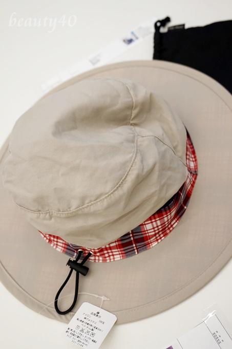 紫外線防止 99%紫外線カット帽子 ベルメゾン
