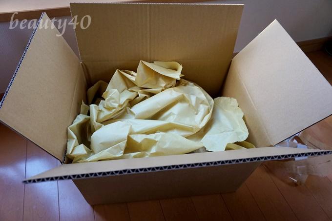 トリアアイケアレーザー の梱包の様子