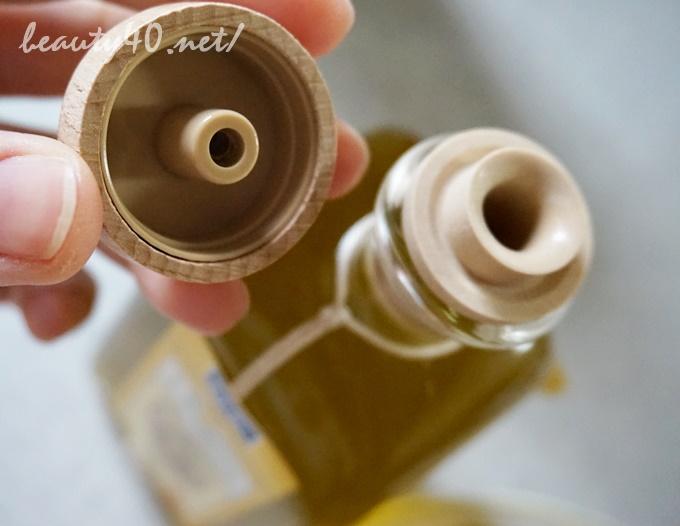 偽コルクのボトル dhc有機オリーブオイル (4)1