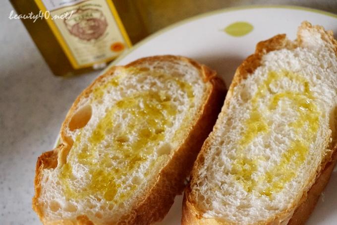 フランスパンによくあいます dhc有機オリーブオイル (9)