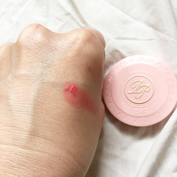 ピンクをつけてみた