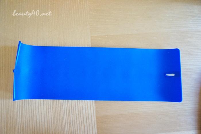 青いシリコンマット付属